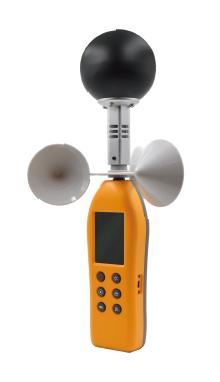 measureWBGTandthermalworklimit(TWL)heatindex,SmartUser-FriendlyInterface,AutomaticWarning,All-DirectionWindCup,DryandWetBulbTemperature,Wind Speed,433MHztechnology,SmartDevice