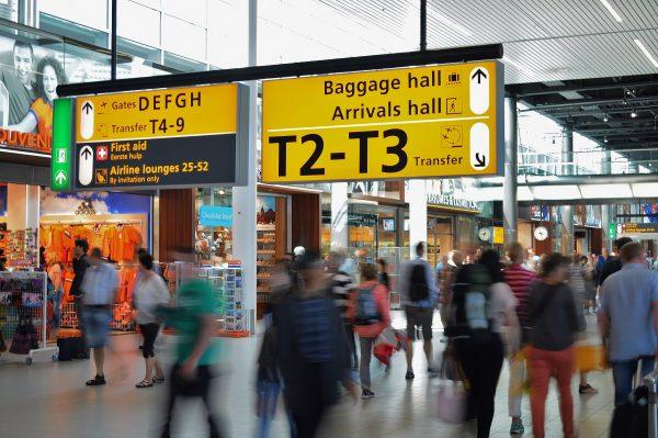 Thermal imaging scanner - airport
