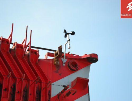 Scarlet Handheld/Portable Anemometer V.S. Scarlet Online Wind Monitoring for Crane Safety