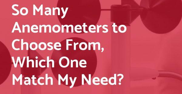 Wireless Anemometer Scarlet Tech