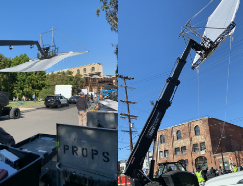 """Entertainment Safety: IMDb """"The Rookie"""" Use WindSmart Behind The Scenes"""