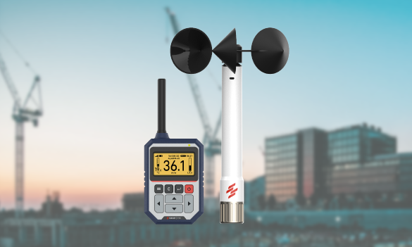 Best Anemometer for Tower Cranes