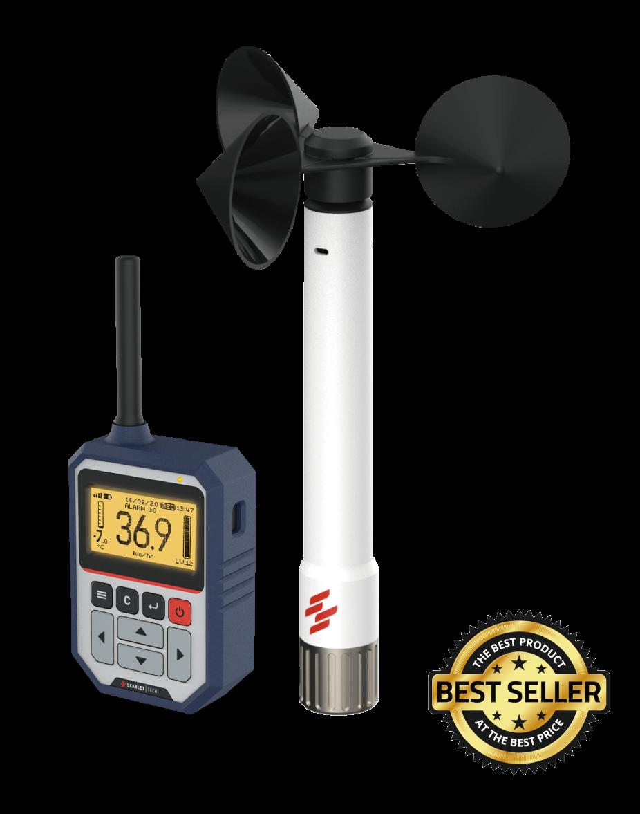 Wireless Anemometer for Crane