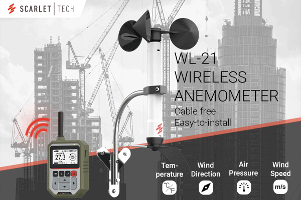 Wind Speed and Direction Anemometer