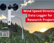 Wind Speed Direction Data Logger