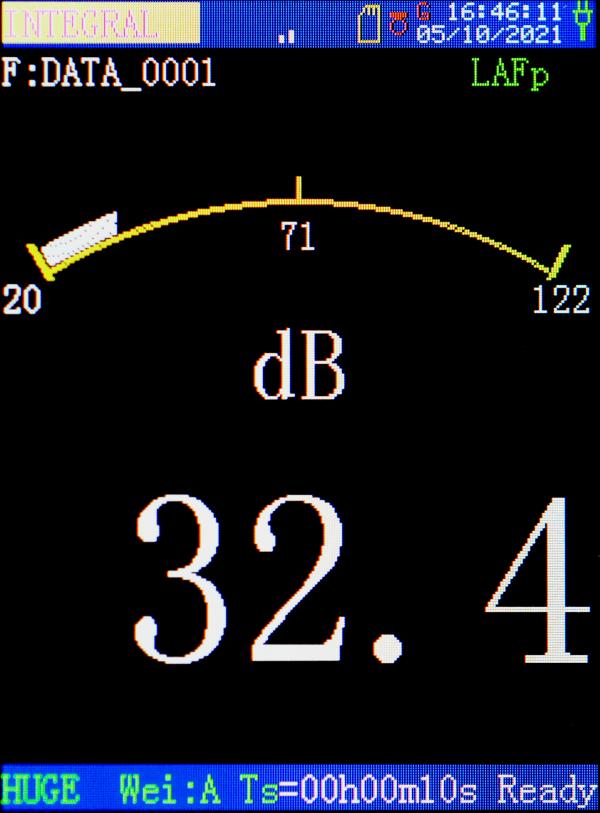 scarlet ST15D Sound analyzer